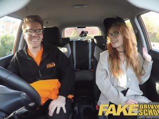 Fake Driving School Creampie..