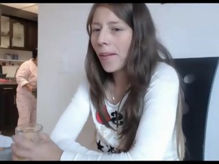 Masturbating when her mom is..