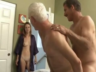 Grandpa s bisexual fun with..
