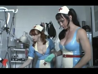 Wicked nurses in latex and..