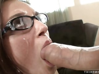 Tori Black facial from a..