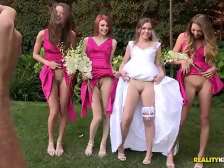 Sweet porno wedding with..